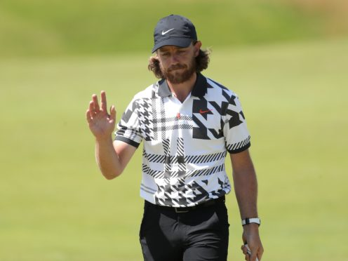 Tommy Fleetwood admitted a hairdryer is not the secret behind his locks (Richard Sellers/PA)