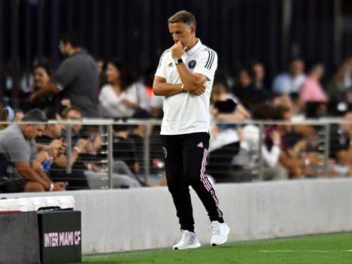 Phil Neville has endured a miserable start as Inter Miami coach (Jim Rassol/AP/Press Association Images)