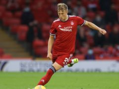 Aberdeen's Ross McCrorie is determined to create more history (Steve Welsh/PA)