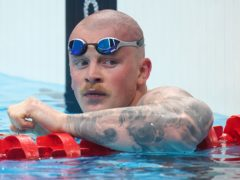 Adam Peaty eased into the semi-finals of the men's 100 metres breaststroke (Adam Davy/PA)