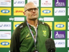 Jacques Nienaber lamented South Africa's ill discipline and lack of precision in defeat to the British and Irish Lions (Steve Haag/PA)