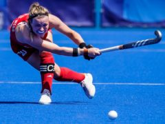 Great Britain captain Hollie Pearne-Webb was disappointed to not win their opening match with Germany (John Minchillo/AP)