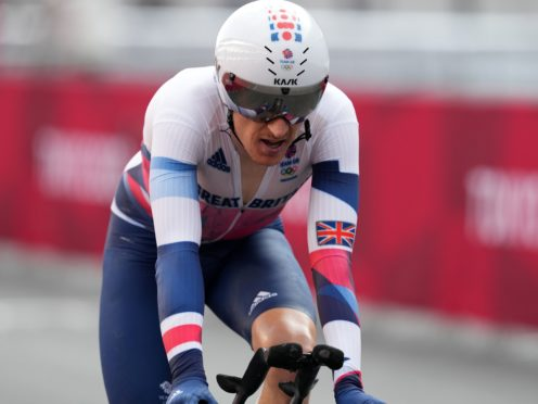 Geraint Thomas finished 12th in the men's time trial (Martin Rickett/PA)