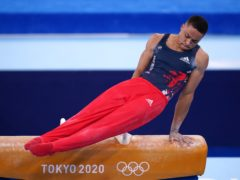 Joe Fraser finished well out of the medals in the men's all-around final (Mike Egerton/PA)