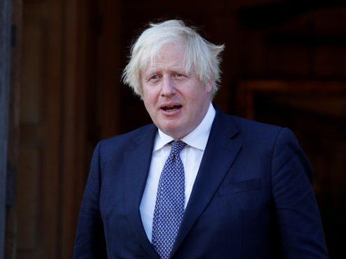 Prime Minister Boris Johnson (Peter Cziborra/PA)
