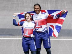 Beth Shriever and Kye Whyte helped make history (Danny Lawson/PA)