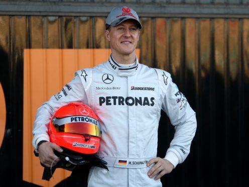 Mercedes GP driver Michael Schumacher during a photocall at the Circuit de la Comunitat Valenciana Ricardo Tormo, Valencia, Spain.