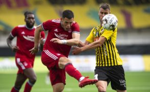 Aberdeen survive second half scare in Hacken to progress in Conference League