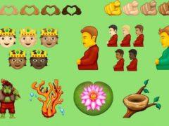 Draft emoji proposed as part of Emoji 14.0 (Emojipedia)