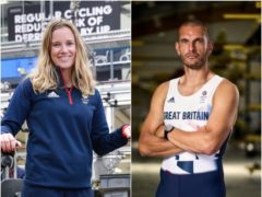 Hannah Mills and Mohamed Sbihi will share GB flag bearing duties in Tokyo (John Walton/PA)