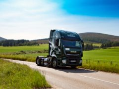 The new vehicles are said to be a first for a whisky company (Glenfiddich/PA)