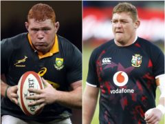 Steven Kitshoff (left) and Tadhg Furlong will go head to head this weekend (Andrew Matthews/Steve Haag/PA)