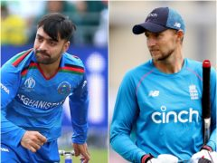 Joe Root, right, expects Rashid Khan to shine in The Hundred for Trent Rockets (Nigel French/Bradley Collyer/PA)