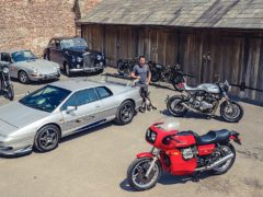 The former Top Gear presented is auctioning off a fleet of his vehicles