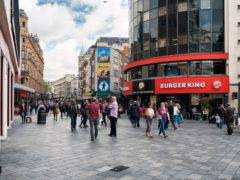 Soho Estates is planning a £100m redevelopment of the corner of Leicester Square (Soho Estates/PA)
