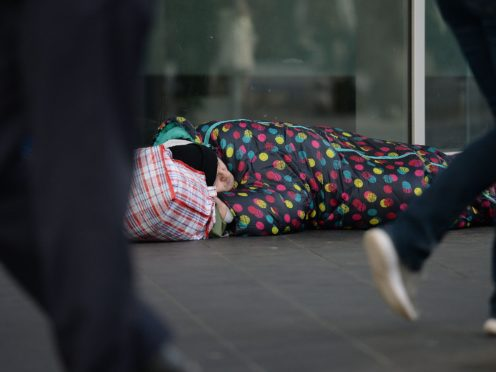 Labour is demanding action after a 'shocking' rise in the number of Scots with mental health problems who are either homeless or facing losing their home (Nick Answell/PA)