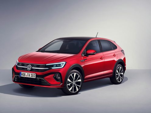 The Taigo arrives as Volkswagen's first coupe-styled SUV