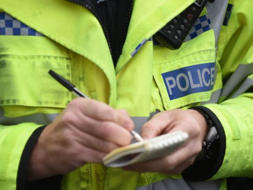 Enquiries are continuing to establish the circumstances of the incident, which killed two men, Police Scotland said (Joe Giddens/PA)