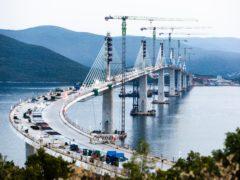 The new bridge in Croatia (AP)
