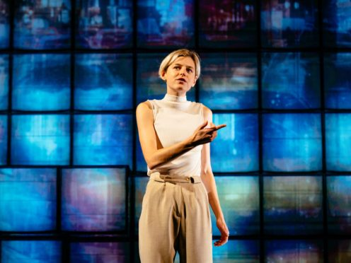 Producers have shared a first look at Emmy nominee Emma Corrin in her West End debut (Helen Murray/PA)