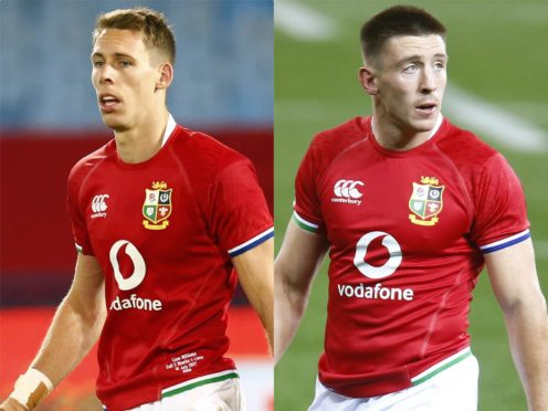 Liam Williams and Josh Adams will start for the Lions in Saturday's series decider against South Africa (Steve Haag/PA)