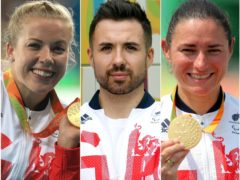 Hannah Cockroft, left, Will Bayley, centre, and Dame Sarah Storey, left, are among Britain's best gold medal hopes for the Tokyo Paralympics (PA)