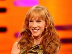 Kathy Griffin (Ian West/PA)
