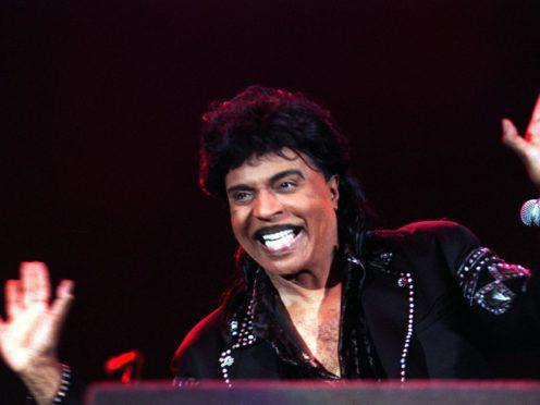 American rock 'n' roll star Little Richard (Yui Mok/PA)