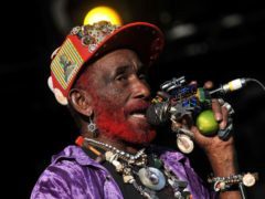 Record producer and singer Lee 'Scratch' Perry has died at the age of 85 (Tim Goode/PA)