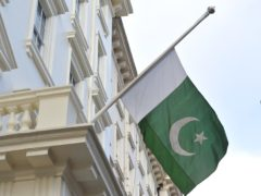 The flag of Pakistan (Nick Ansell/PA)