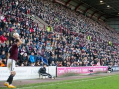 Tynecastle is set for a full house again (Jeff Holmes/PA)