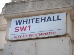 No 10 has dismissed calls for a pay cut for officials who refuse to return to their Whitehall offices (Lauren Hurley/PA)
