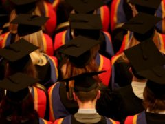Six in 10 (61%) students feel money worries are affecting their mental health, according to Nationwide Building Society (Chris Radburn/PA)