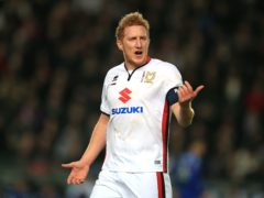 Dean Lewington has been placed in interim charge as MK Dons look for a new manager (Mike Egerton/PA)
