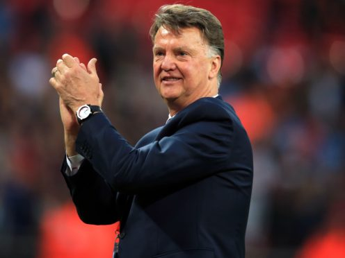 Louis van Gaal is back as Holland manager on a deal running to the 2022 World Cup (Mike Egerton/PA).