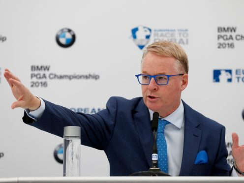 """European Tour chief executive Keith Pelley has hailed the co-sanctioning of three events with the PGA Tour as an """"important first step"""" (Steve Paston/PA)"""