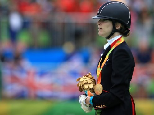 Great Britain's Sophie Christiansen has been ruled out of Tokyo 2020 (Adam Davy/PA)