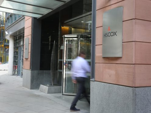 Hiscox has returned to profit for the past six months (Philip Toscano/PA)