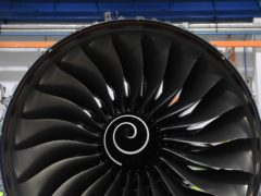 Embattled engine maker Rolls-Royce has returned to profit in the first half of 2021, but warned the pandemic-hit international aviation industry was not set to recover until after 2022 (PA)