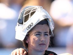 Maddie Hinch came to Great Britain's rescue again (Scott Heavey/PA)
