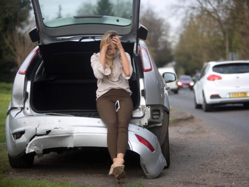 Insurance giant Direct Line notched up a hike in half-year profits amid a slump in motor claims as the pandemic saw fewer drivers on the road (PA)