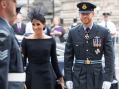 The Duke and Duchess of Sussex moved to California (Steve Parsons/PA)