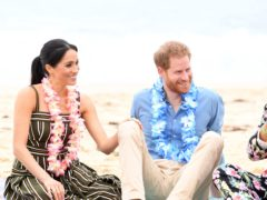 The Duke and Duchess of Sussex quit their royal duties for a life in the US (Paul Edwards/PA)
