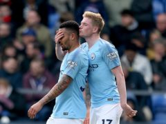 Manchester City, who have signed big-name overseas stars such as Gabriel Jesus, left, and Kevin De Bruyne, are the biggest spenders on international deals over the last 10 years according to a FIFA report (PA)