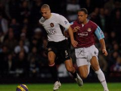 Rio Ferdinand, left, and brother Anton are backing a bid to buy West Ham (Sean Dempsey/PA)