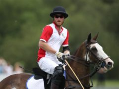 The Duke of Sussex is playing in a charity polo match (Andrew Matthews/PA)