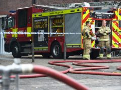 Firefighters were called to the scene in Welling on July 14 (Kirsty O'Connor/PA)