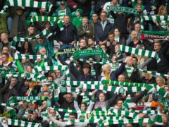 Celtic fans will be back in their stadium in numbers (Ian Rutherford/PA)