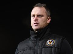 Newport manager Michael Flynn will miss his side's Carabao Cup clash against Southampton after testing positive for coronavirus (Joe Giddens/PA)