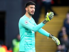 Former Tottenham goalkeeper Paulo Gazzaniga is set to make his Fulham debut against Middlesbrough (Nigel French/PA)